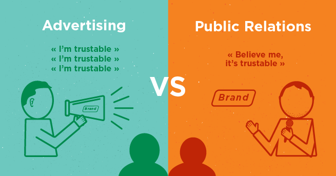 Advertising Vs Public Relations