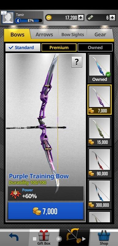 Archery King Weapon