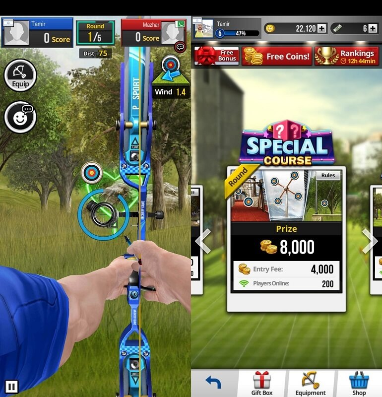 Archery King Mobile Game