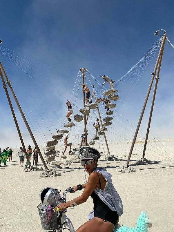 Burning Man Art Installation